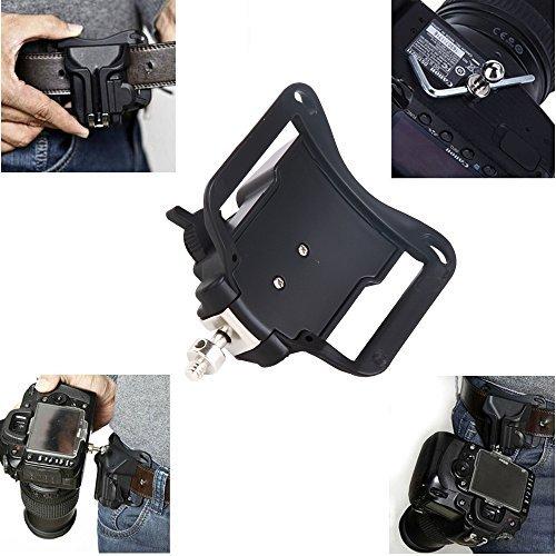 Hard-Plastic-Holster-Waist-Belt--Strap-Buckle