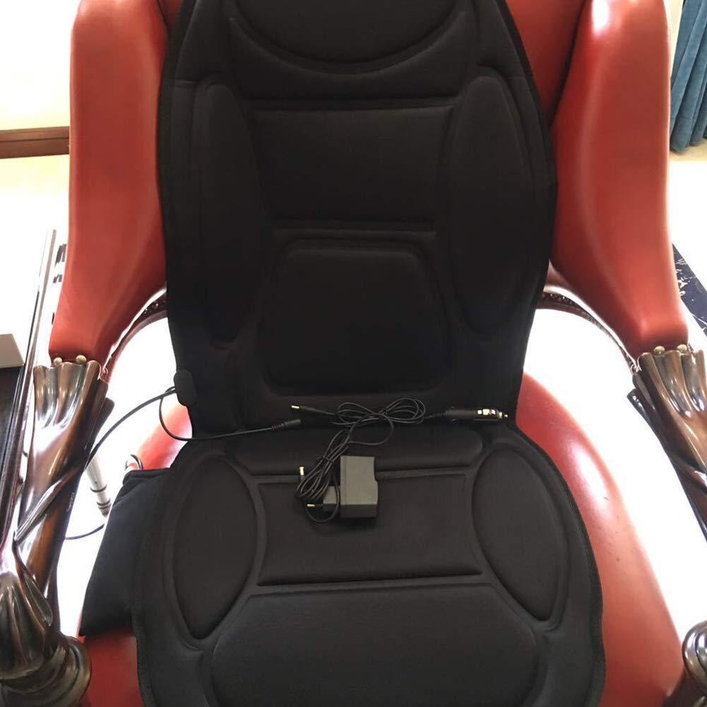 Heated Vibrating Seat Massage Cushion+Heat Therapy Massager