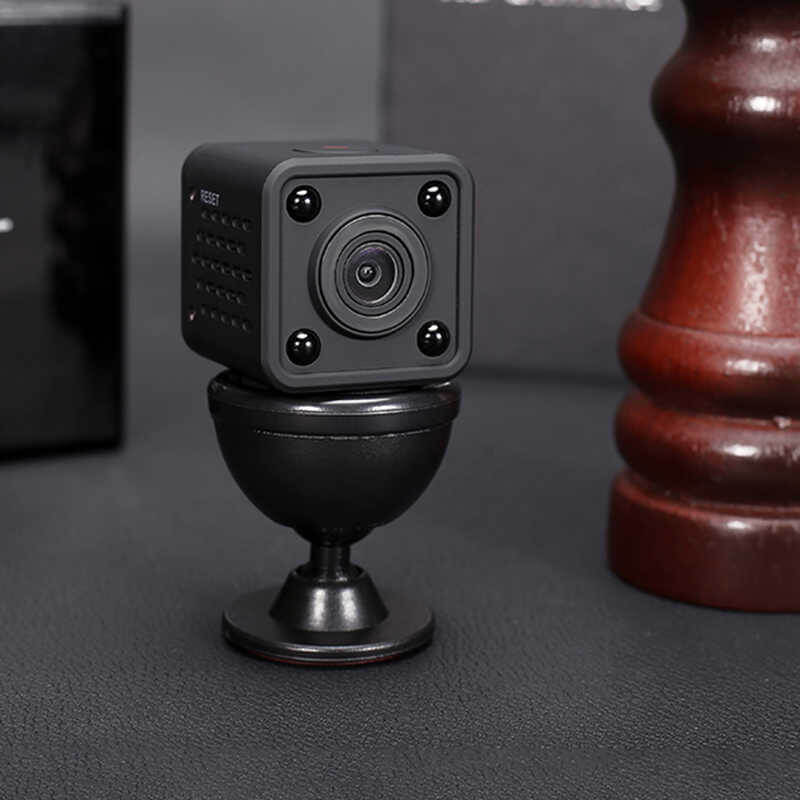 1080P Ultra Mini WiFi Cam with Battery, Magnetic Bracket