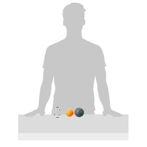 Massage Ball Combo Orange/Grey