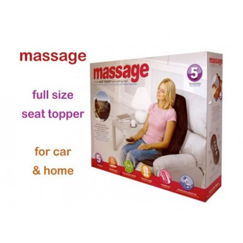 Full Seat Topper Massage With Soothing Heat