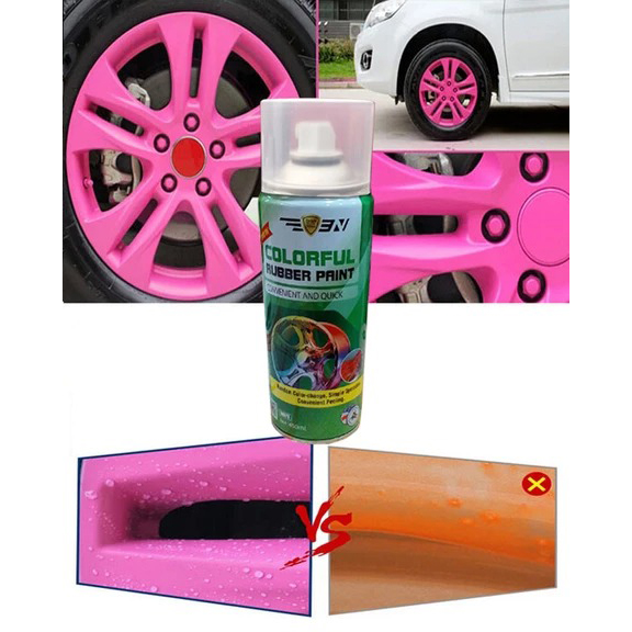 Rubber Spray Paint for All Cars