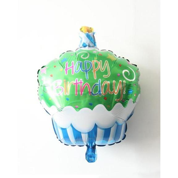 5 Pieces - Action Figure Foil Lightning Balloons