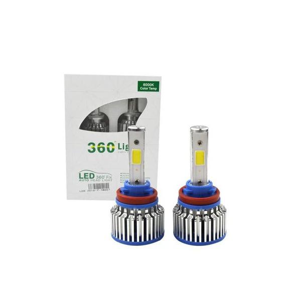 360 LED Headlight Hid Kit