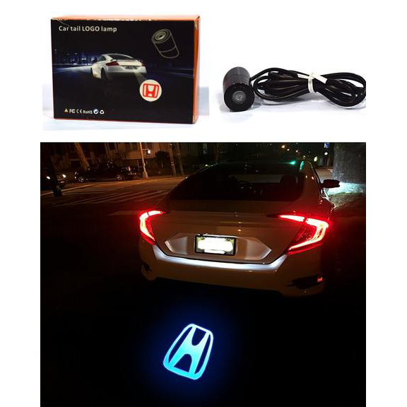 Laser LED Tail Logo Lamp - Honda