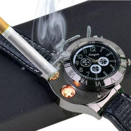 Digital-USB-Lighter-Watch
