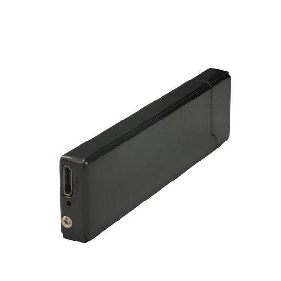 Motion Sensor Chargeable Lighter - Black