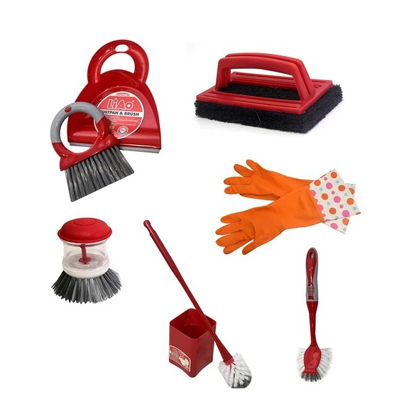 LIAO Kitchen and Bath Cleaning Set