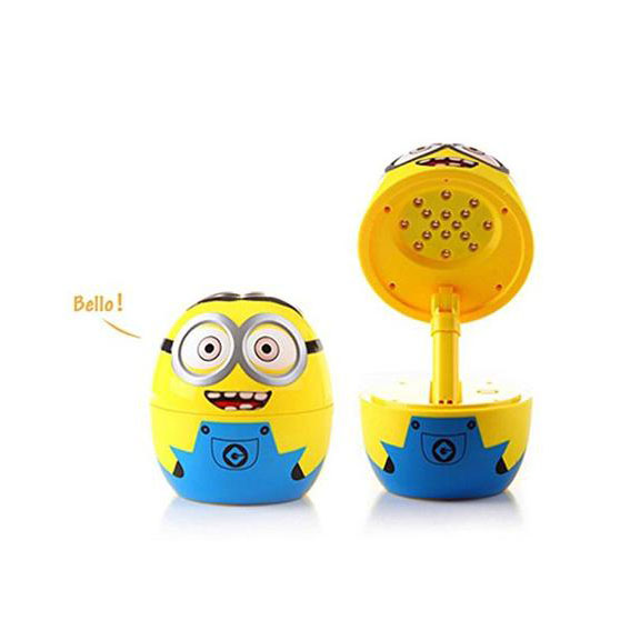16 LED Lamp For Kids- Rechargeabl Folding Table  - Minion