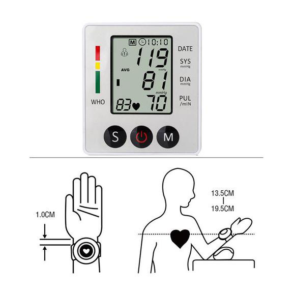 Electronic-Blood-Pressure-Monitor