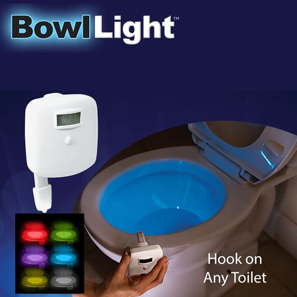 Bowl Light - Motion Activated LED Toilet Light