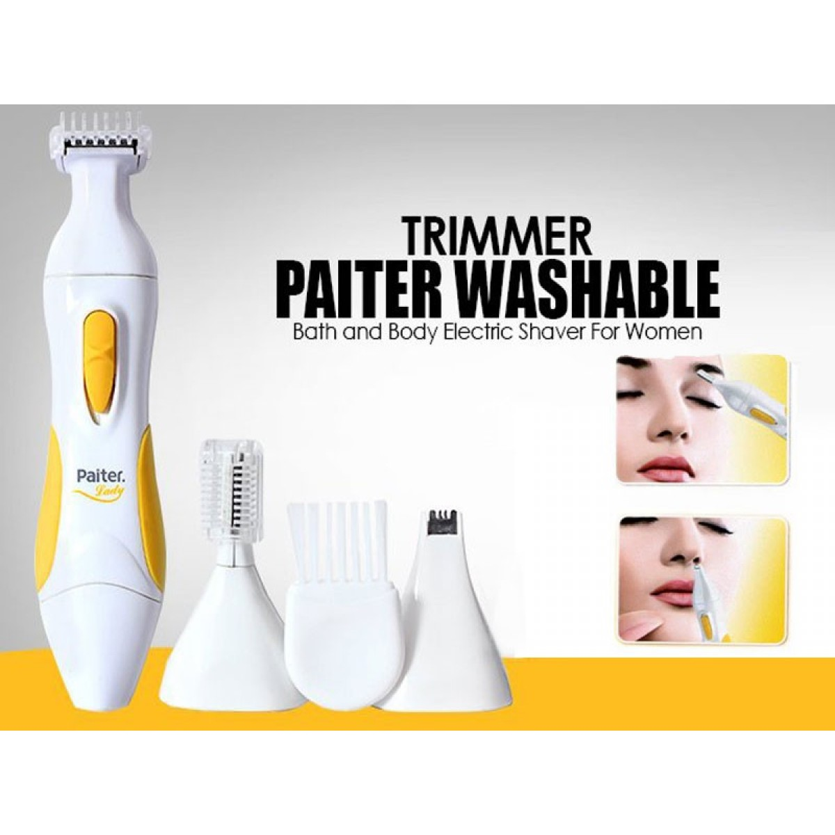 Paiter 3 In 1 Washable Trimmer Set PLS-01S