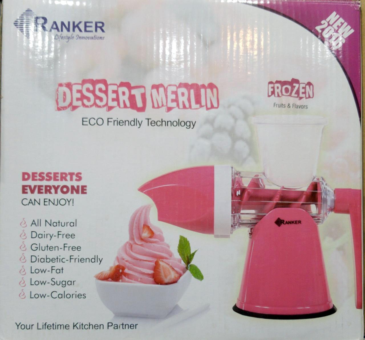 Dessert Merlin - Healthy Frozen Treat