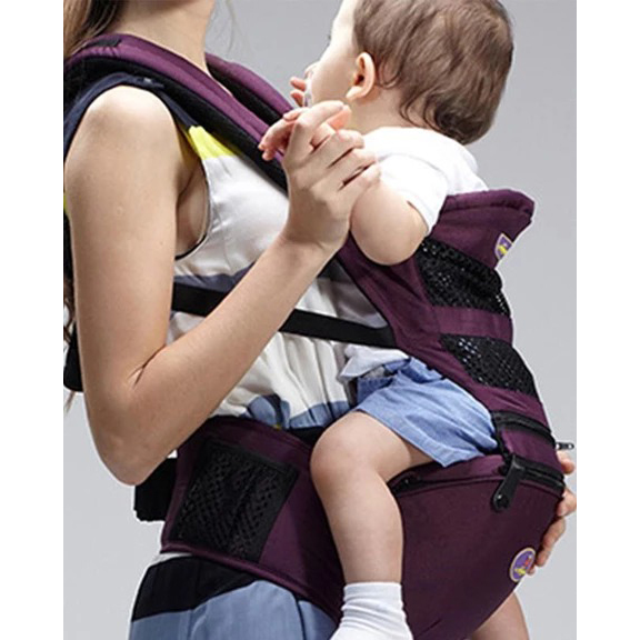 Multifunction Baby Seat Wrapping Backpack Hip Carrier