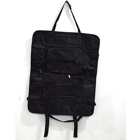 Car Back Seat Multi Pockets Organizer - Black