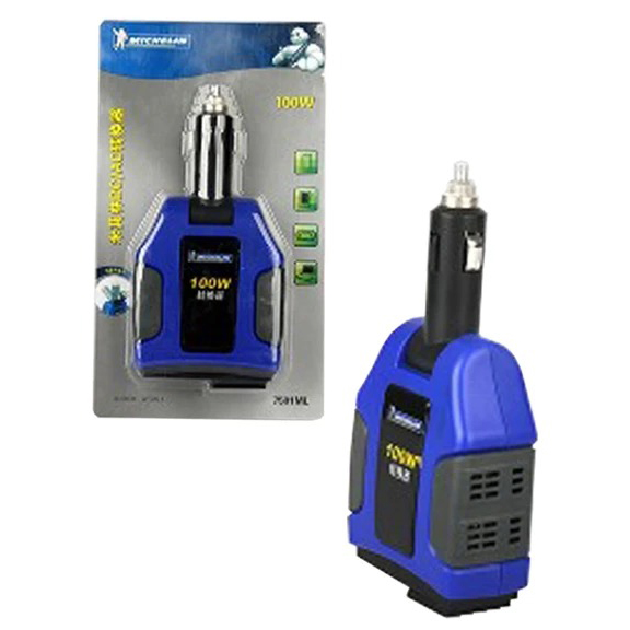 Car USB Adapter, Car Charger, Emergency Power Inverter 100W