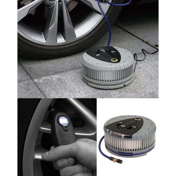 Michelin Hi Power Tyre Inflator And Detachable Digital Gauge