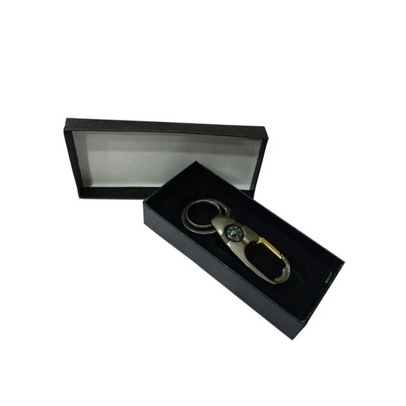 Pack Of 2 Stylish Metal key chain With Compass