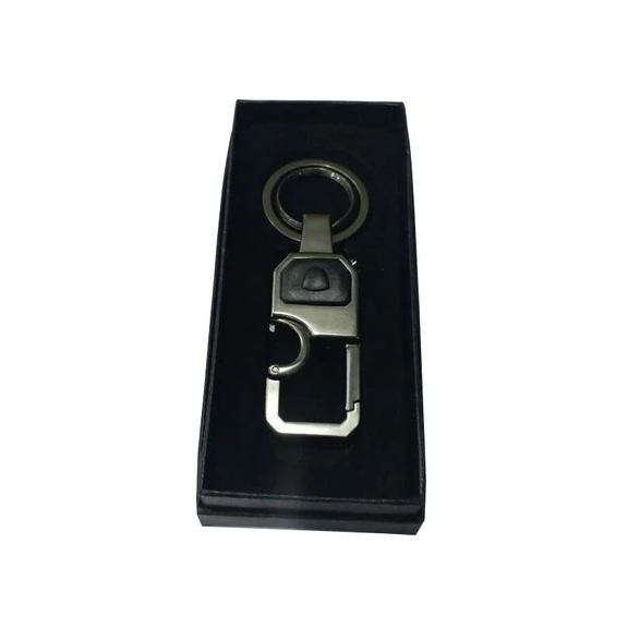 Pack Of 2 Stylish Metal key chain With Led Light