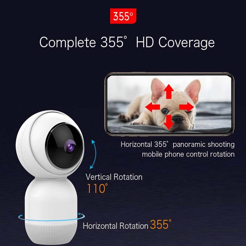 Mibao HD WiFi Wireless IP Security Surveillance Camera