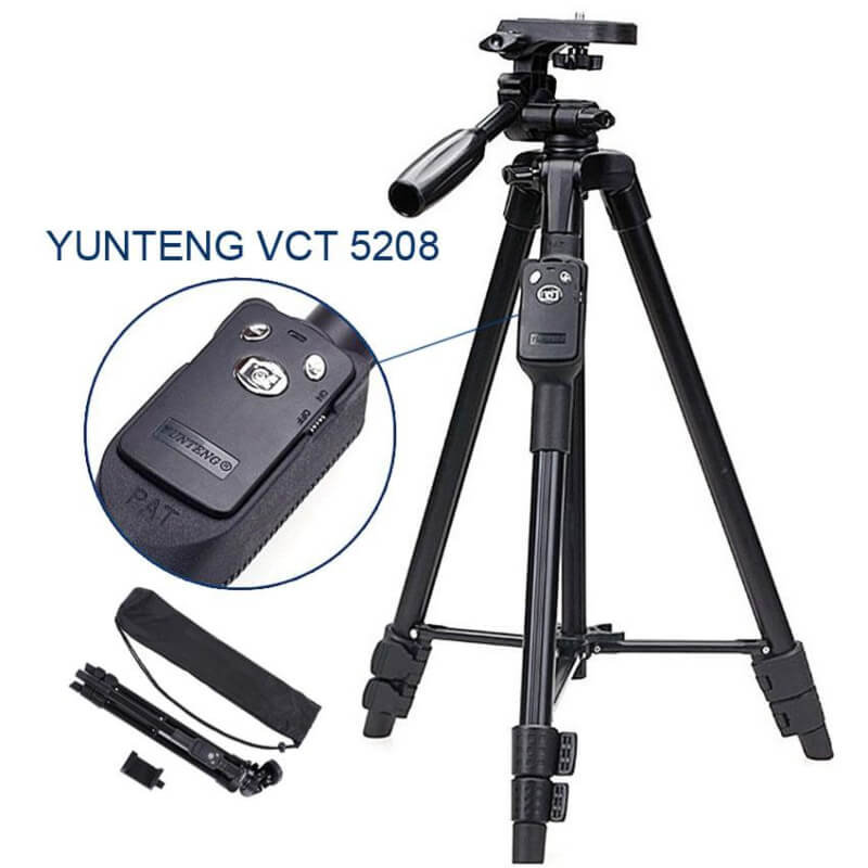 Yunteng 5208 With Bluetooth & Professional Mobile Holder