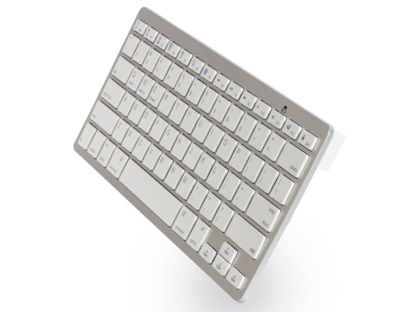 BLUETOOTH-KEYBOARD-BLUE-X5