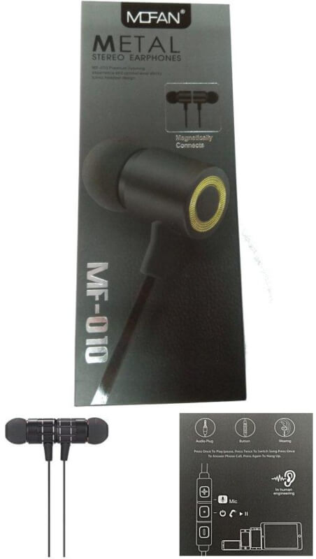 ELMCOEI MF 010STERIO HANDFREE GOOD SOUND QUALITY