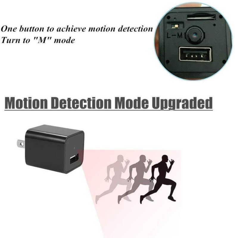 1080P HD USB Wall Charger Camera