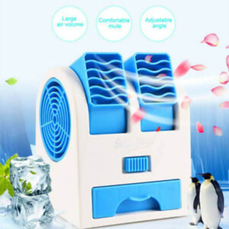 usb cooler fan Blue