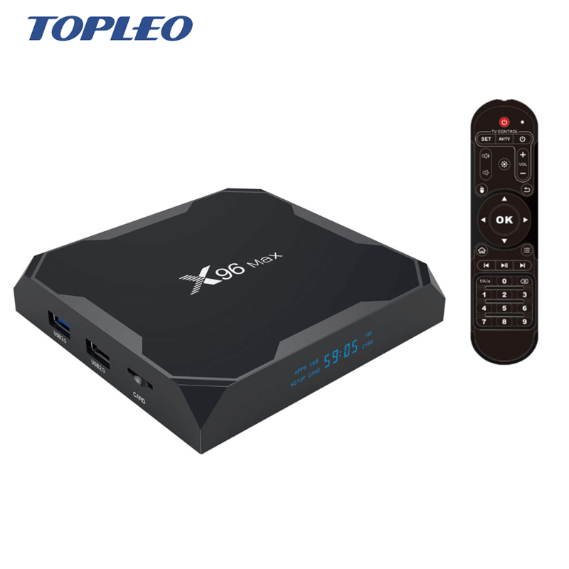 X96 Max ultra hd 4k HDR+ android 8.1 tv box