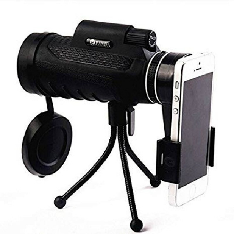 PANDA-40X60-Zoom-Lens-Telescope-Tripod-Clip-for-Cell-Phone