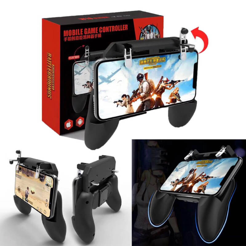 PUBG Game Controller with Builtin L1 R1 Triggers & Stand-W10