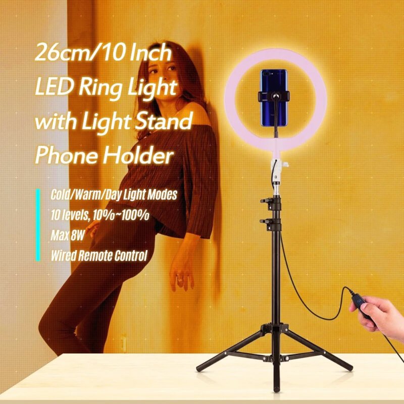 26cm-Ring-Light-For-Tik-Tok