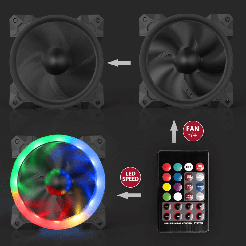 Redragon-GC-F008-PC-Adjustable-Color-LED-Fan-CPU-Cooler