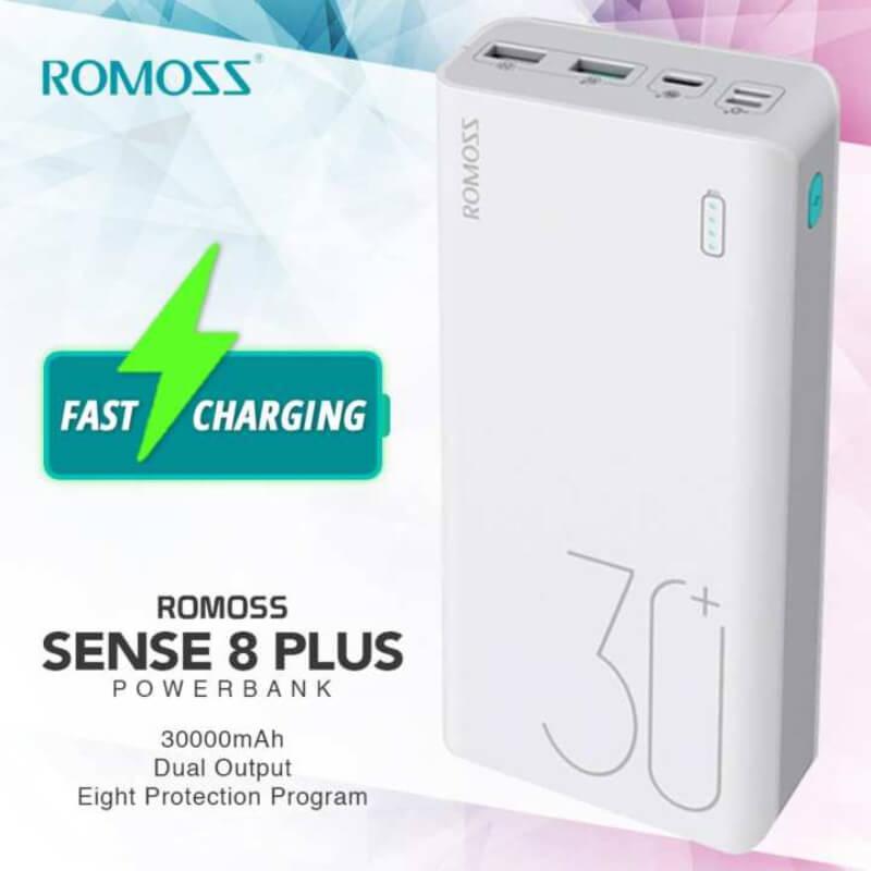 ROMOSS Sense 8 30000 MAh Universal Fast Charge