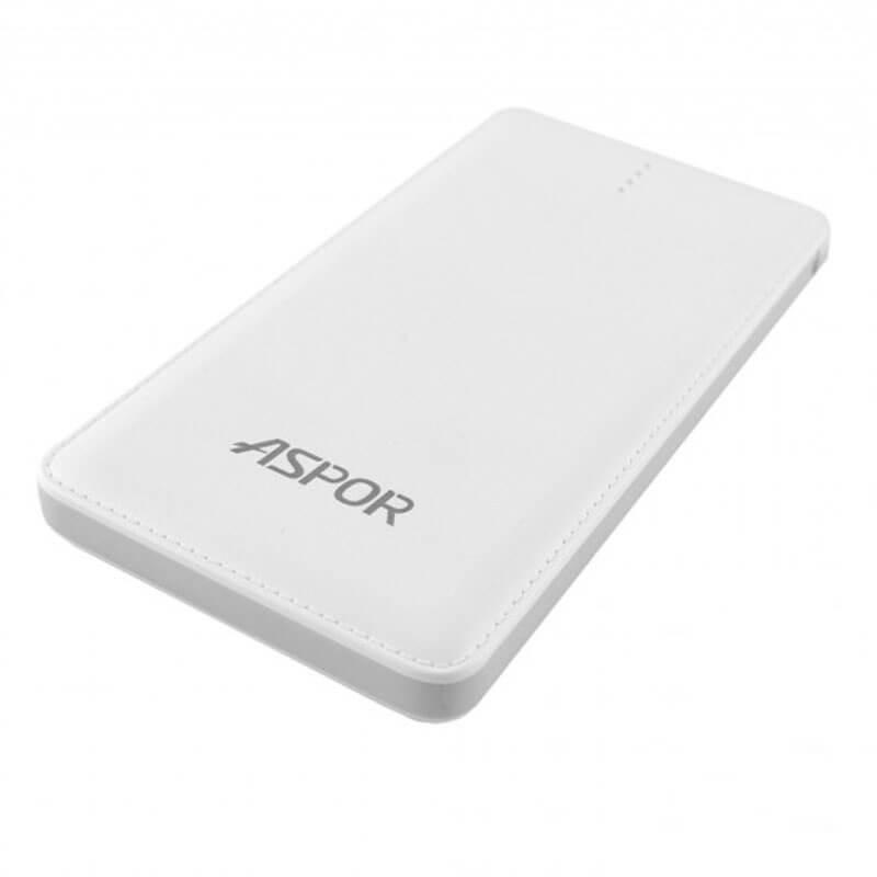 ASPOR A382 10500mAh Smart Slim Power Bank+ Micro Usb Cable