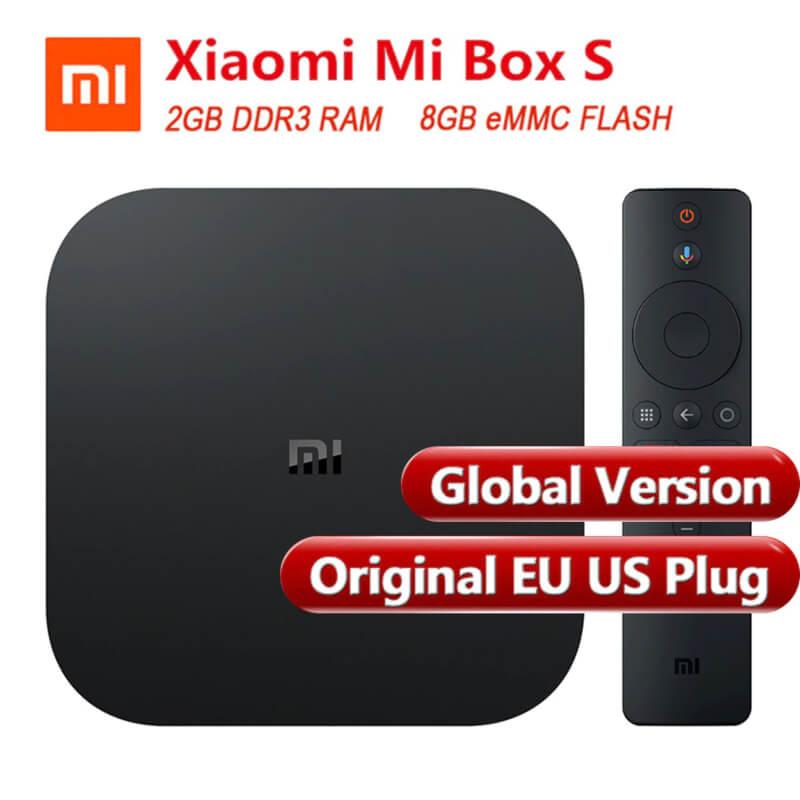 Mi Box S Smart TV Box Android 8.1 Quad Core 2GB 8GB