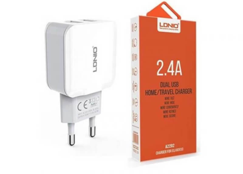 LDNIO-A2202-2.4A-DUAL-USB-HOME-CHARGER