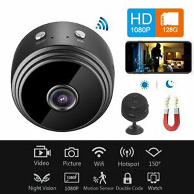 1080p HD Magnetic Wifi Camera