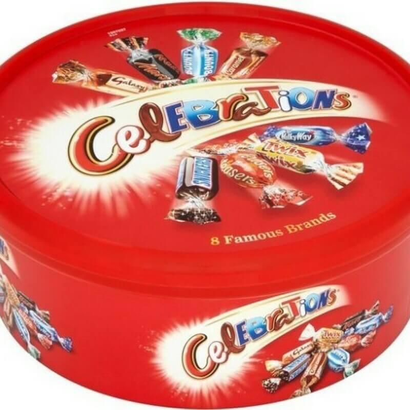 Celebrations Chocolate Box Round