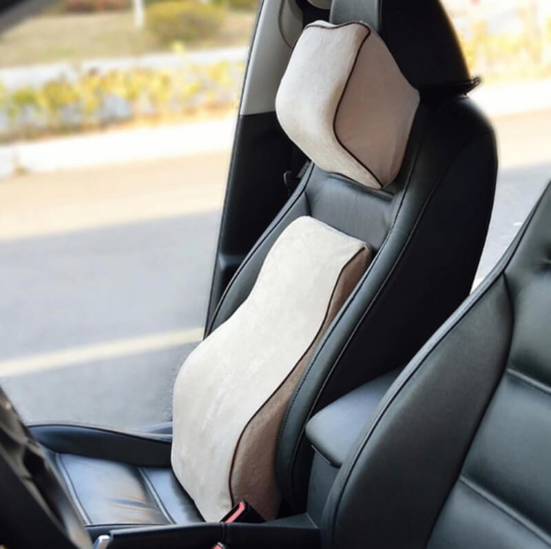 Universal Seat Support and Headrest Pillow