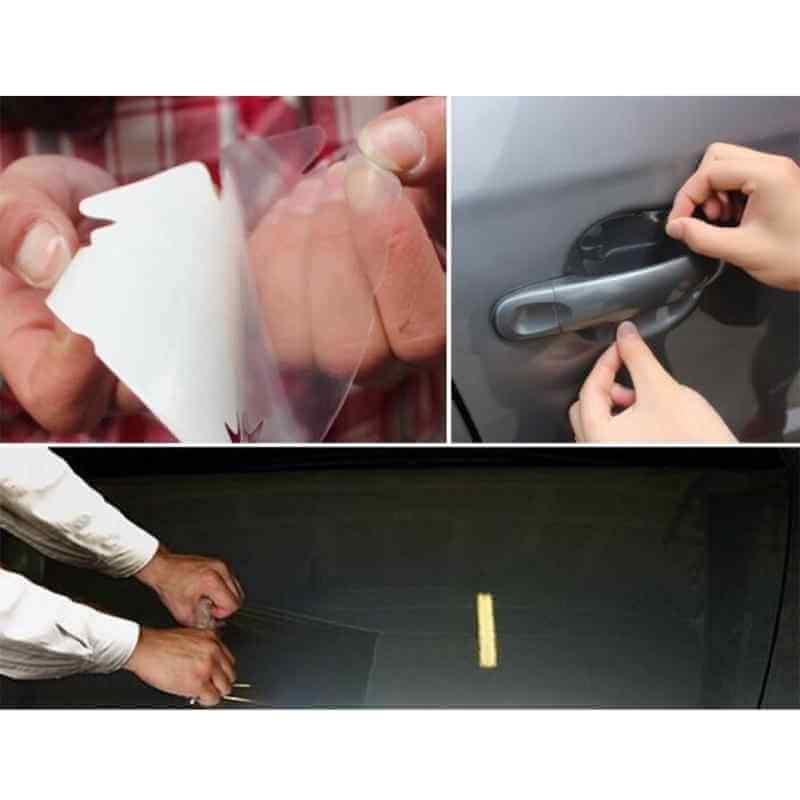 Skin Protective Film Car Bumper Hood Paint Anti Scratch