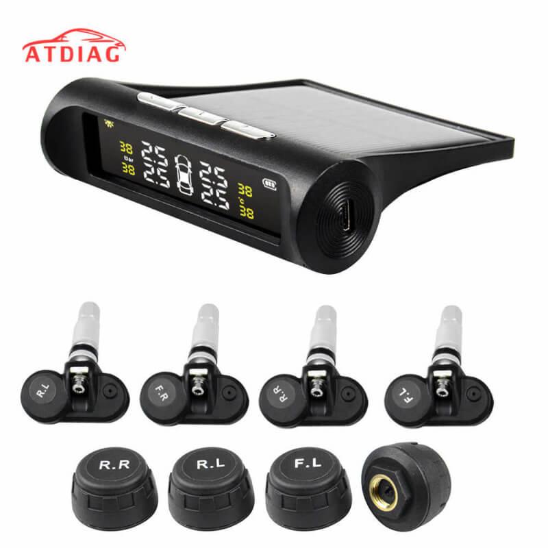 Tire Pressure Monitor System Alarm Sensor Temperature Gauge