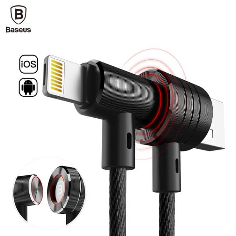 Baseus 2 in 1 Magnetic Micro USB Cable for Android,iOS