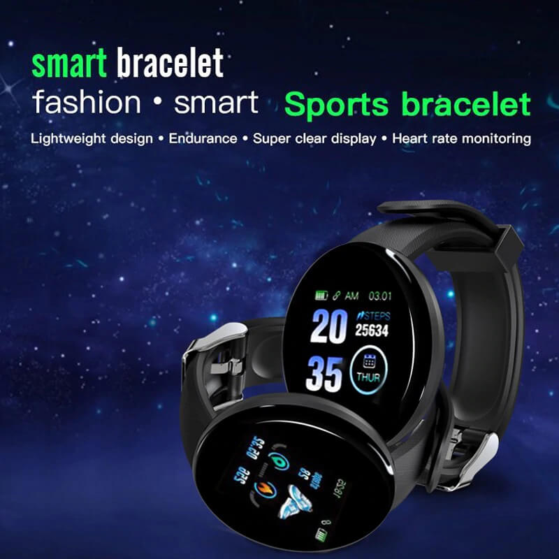 D18-FITNESS-BRACELET-BLOOD-PRESSURE-BLUETOOTH-HEART-RATE-MONITOR