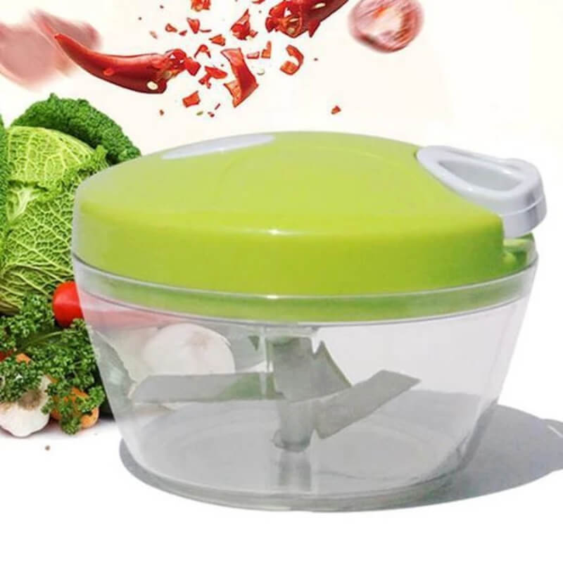 Easy Spin Cutter, Multi-Functional Manual Food Chopper