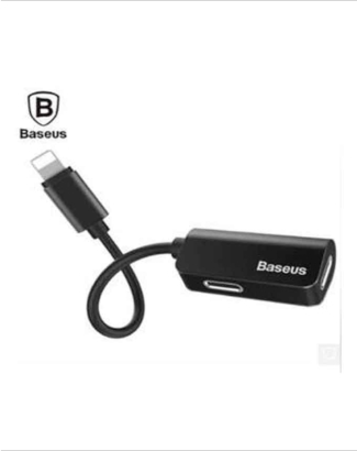 Baseus L37 iP Male to Double iP Female Adaptar