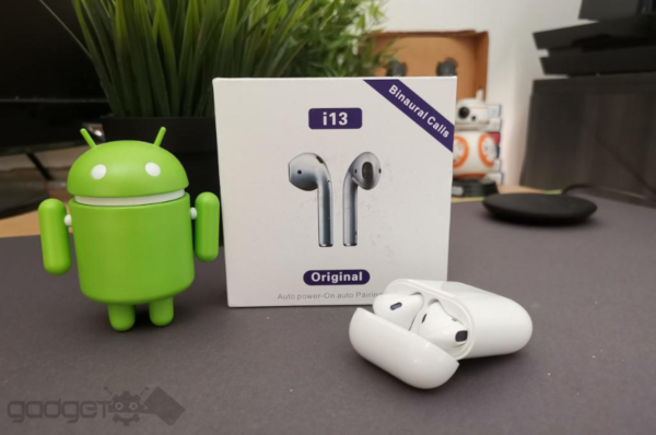Wireless bluetooth Earphone handfree Twin With Charging Dock
