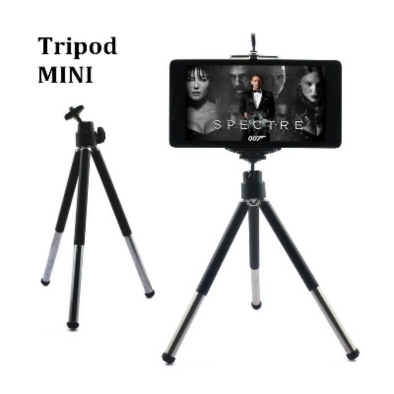 10 INCH METAL TRIPOD FOR MOBILES & POCKET DIGITAL CAMERA