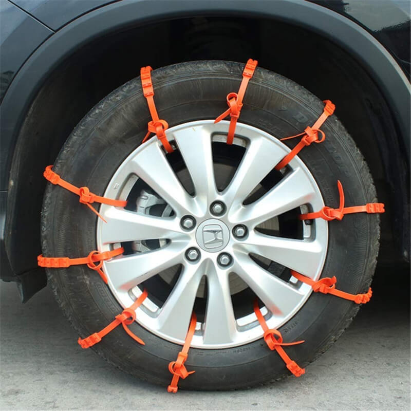 10Pcs Car Truck Anti-skid Chains For Winter Snow Rain